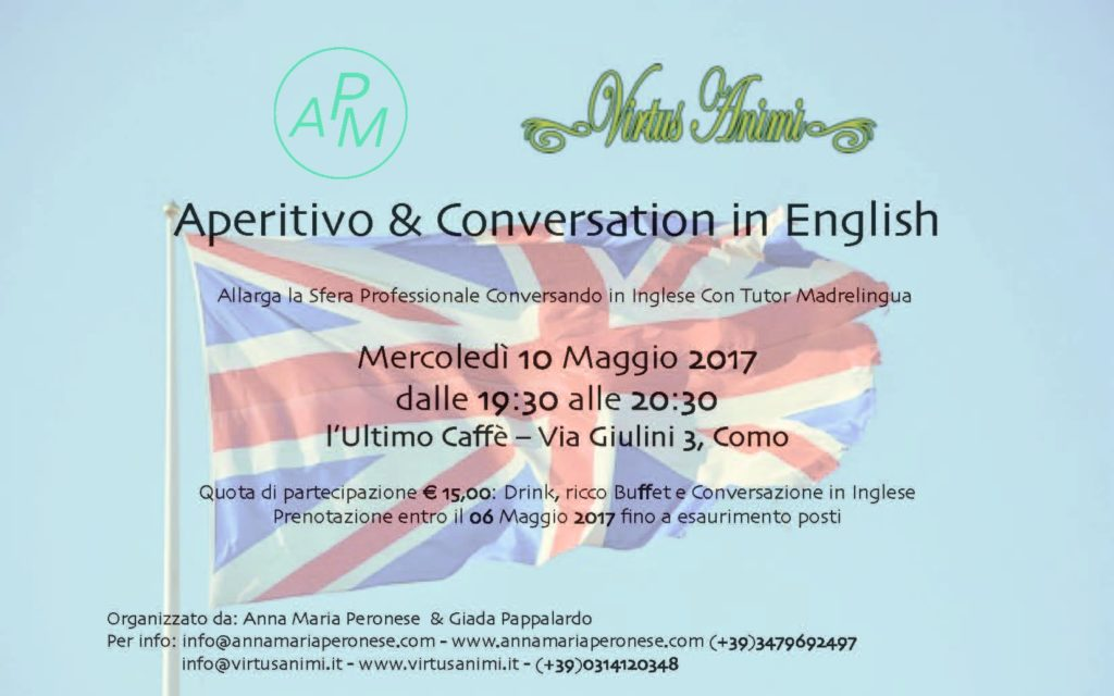 L'aperitivo in Inglese