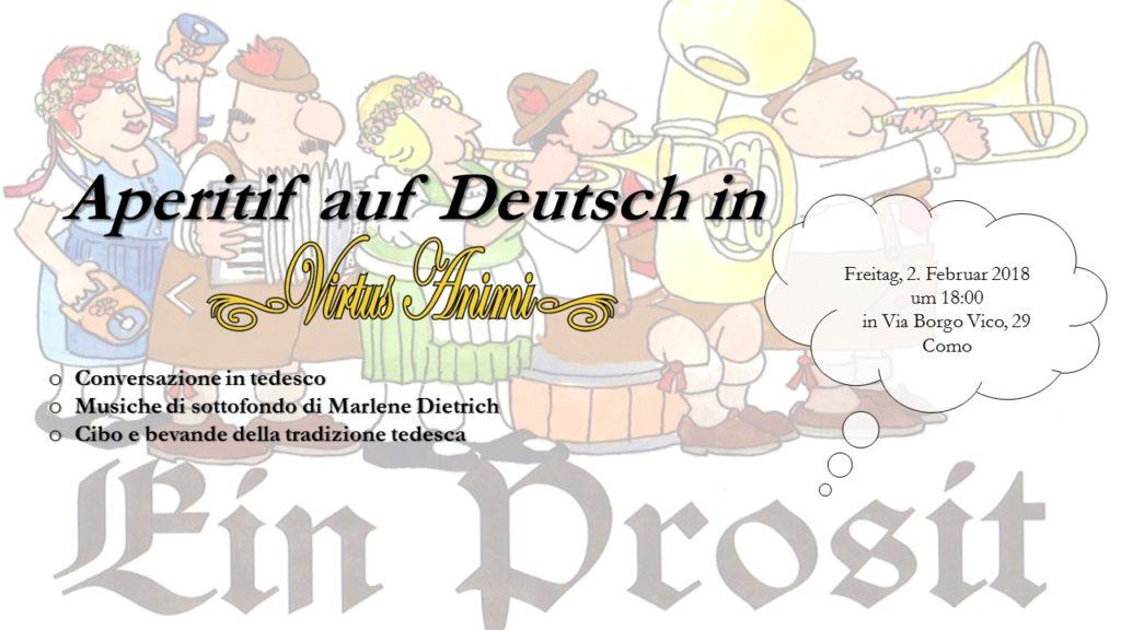 Aperitivo in lingua tedesca